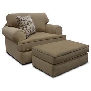 England Norbit Chair & Ottoman