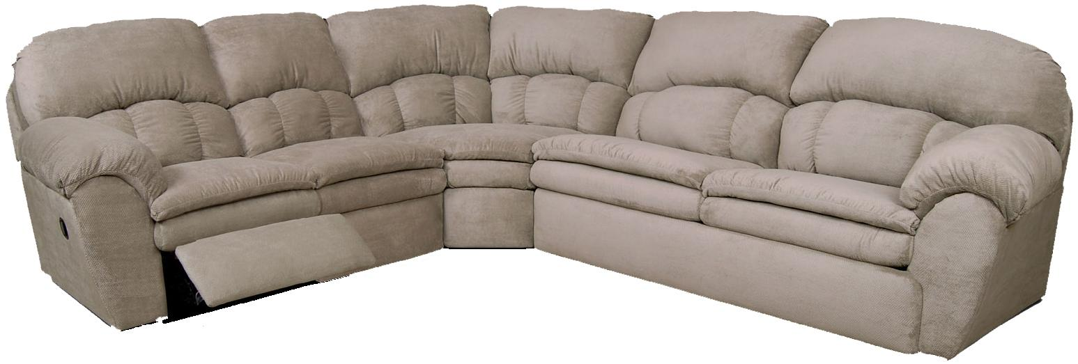 England Oakland Sectional Sofa - Item Number: 7200-60+22+51
