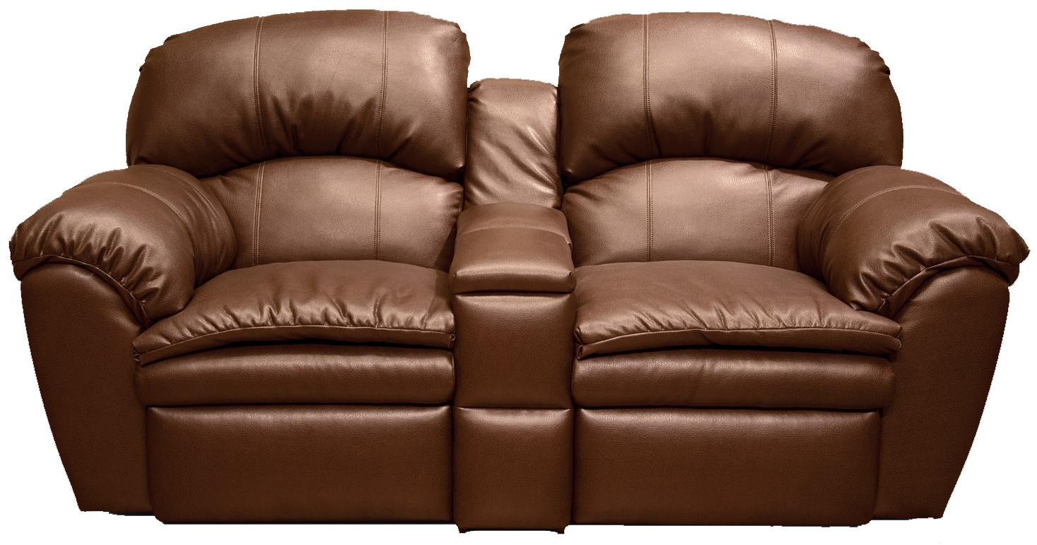 England Oakland Double Reclining Loveseat Console - Item Number: 720085L