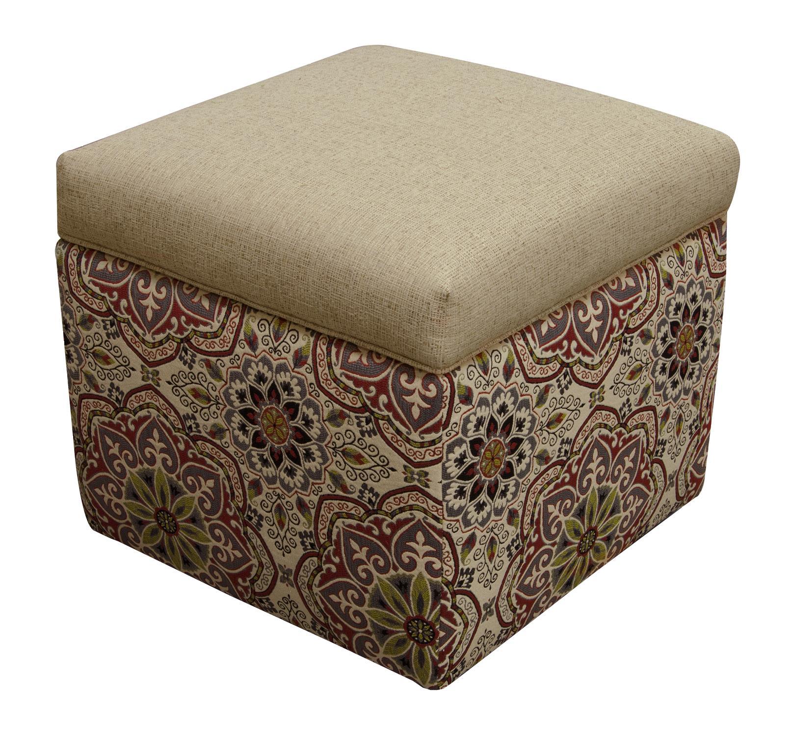 England Parson Storage Ottoman - Item Number: 2F00-81-7347