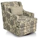 England Norah Swivel Glider Chair - Item Number: 510-71-Amerie-Portrait