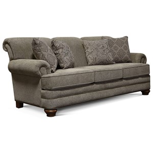 England Reed Sofa with Nailhead Trim