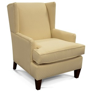 England Reynolds Upholstered Wing Chair