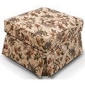 England Rochelle Ottoman - Item Number: 4007-Lucy Spring