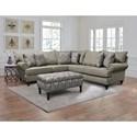 England Rosalie Stationary Living Room Group - Item Number: 4Y00 Living Room Group 2