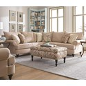 England Rosalie Sectional Sofa - Ottoman Available Separately