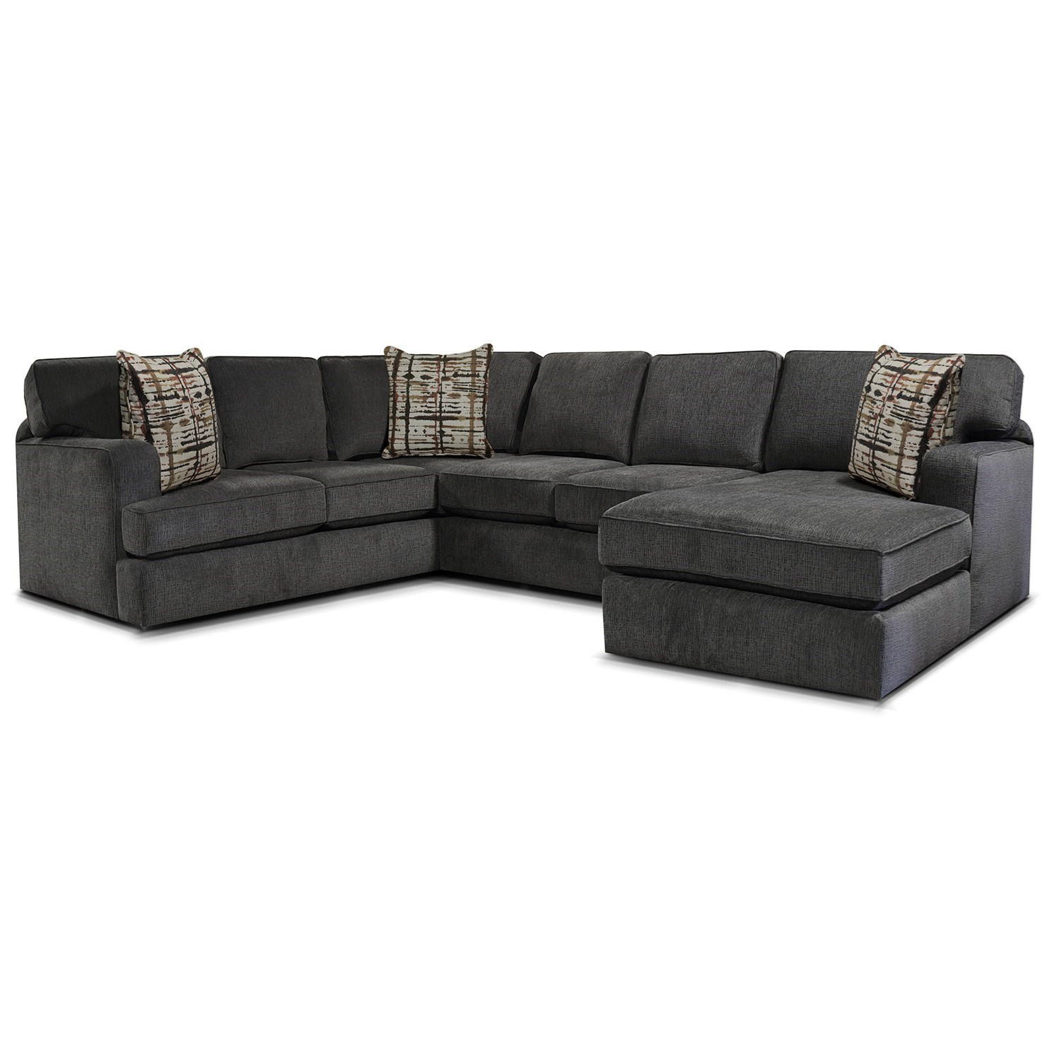 Wondrous England Rouse Casual 3 Piece Sectional Vandrie Home Unemploymentrelief Wooden Chair Designs For Living Room Unemploymentrelieforg