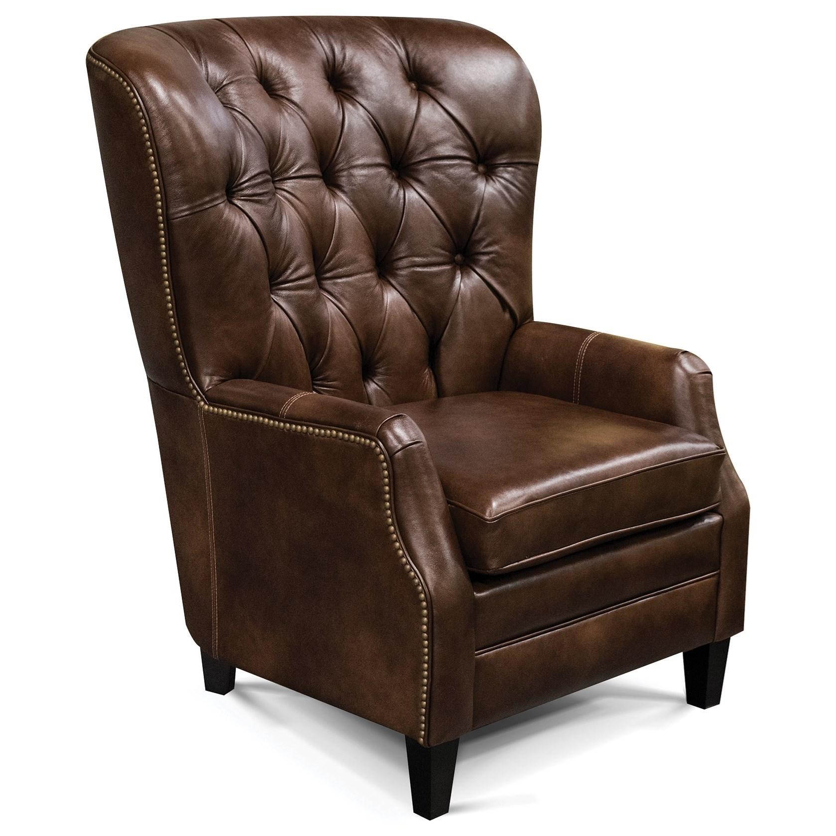 England Ryker Tufted-Back Den Room Chair - Item Number: 7C04ALN-Heirloom-Chimera