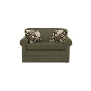 England Seabury 140 07 Visco Mattress Twin Size Sleeper Sofa For