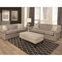 England Savona Visco Queen Size Sleeper Sofa with Traditional Furniture Style