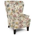 England Zorah Wing Chair - Item Number: 4534N-7406