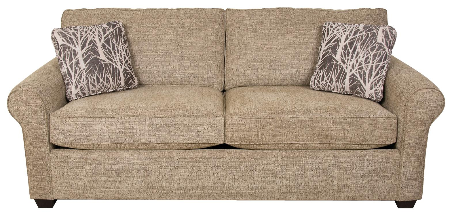 England Seabury Queen Size Sleeper Sofa With Casual Style