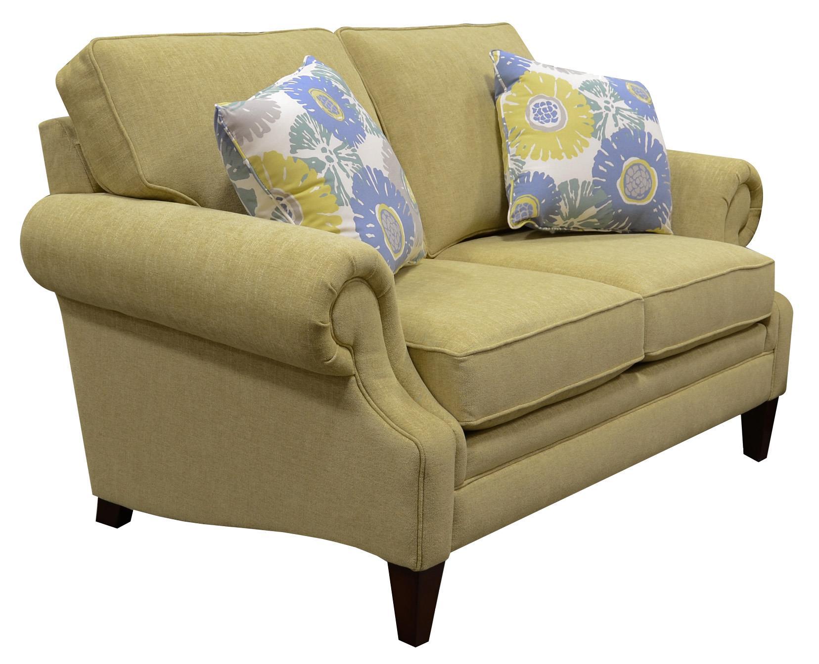 England Xandi Loveseat Prime Brothers Furniture Love Seats