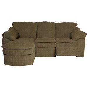 England Seneca Falls Three Piece Reclining Sectional