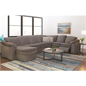 Casual Sectional Sofas in Orland Park, Chicago, IL | Darvin Furniture