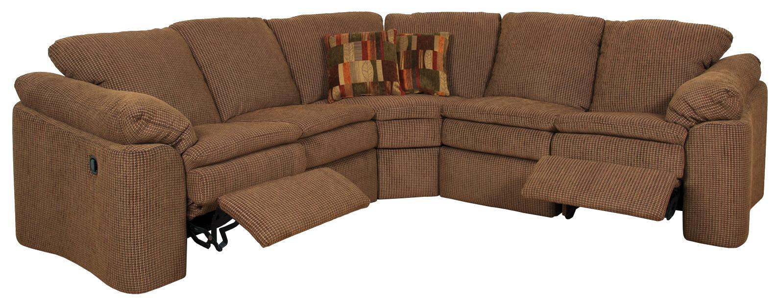 England Seneca Falls Sectional Sofa - Item Number: 7300-58+54+22+39+57