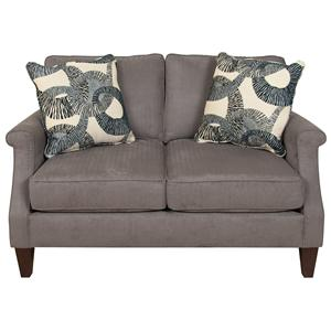 Sigmond  Contemporary Love Seat for Family Rooms by England