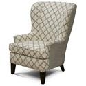 England Smith Living Room Arm Chair - Item Number: 4544N-Enhance Greystone