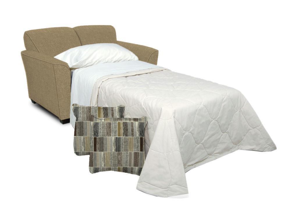Twin Size Sleeper with Comfort 3 Mattress