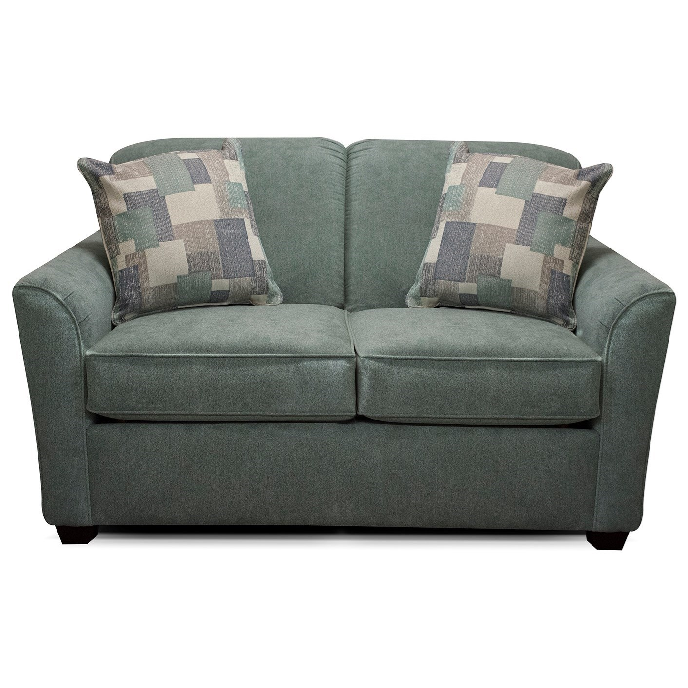 England Smyrna 306 Loveseat with Casual Contemporary Style ...