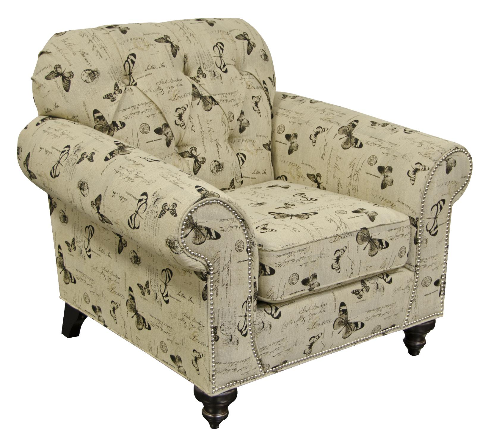 England Stacy Chair with Nailheads - Item Number: 5734N