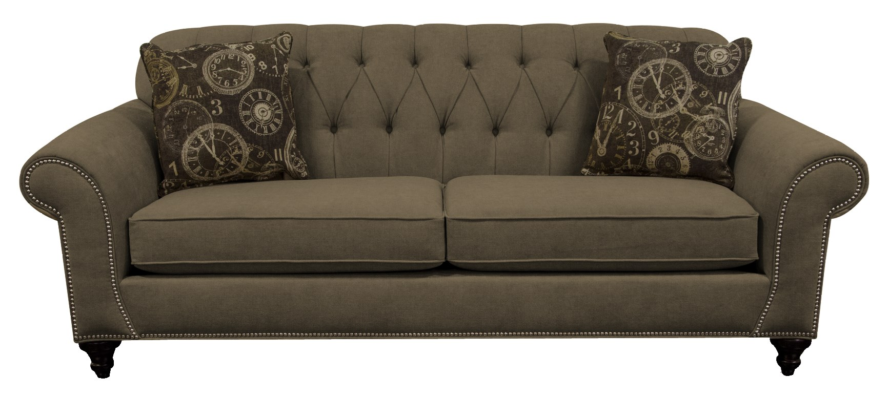 England Stacy Sofa with Nailheads - Item Number: 5735N-6278