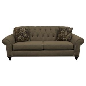 England Stacy Sofa with Nailheads