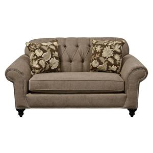 Loveseat with Neailheads