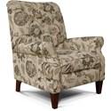 England Stella Push Back Chair - Item Number: 5U00-31-Wolcott_Portobello