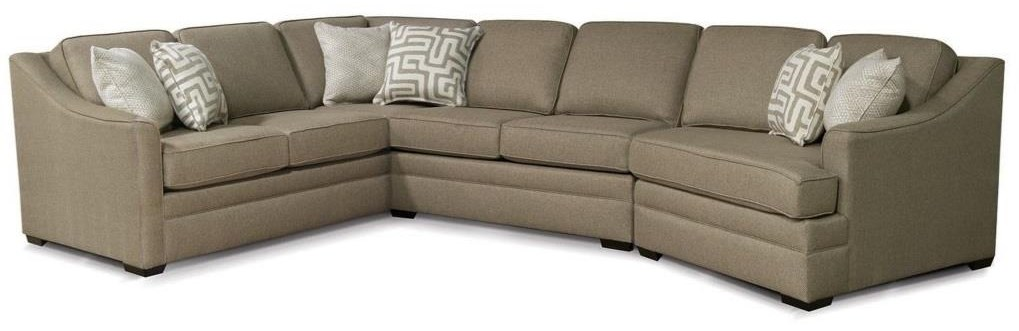 Sectional with Cuddler