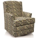 England Valerie Casual Styled Swivel Chair - Item Number: 6A00-69-Lexicon-Earth