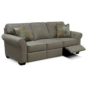 Sofa with Power Ottoman