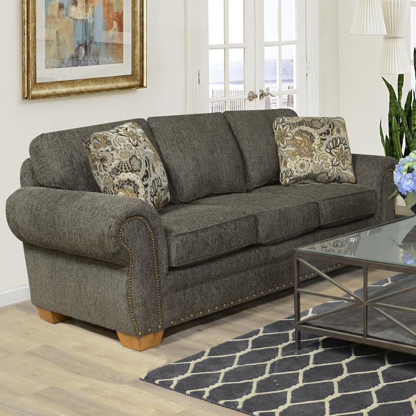 England Walters Sofa With Nailhead Trim Prime Brothers Furniture Sofa