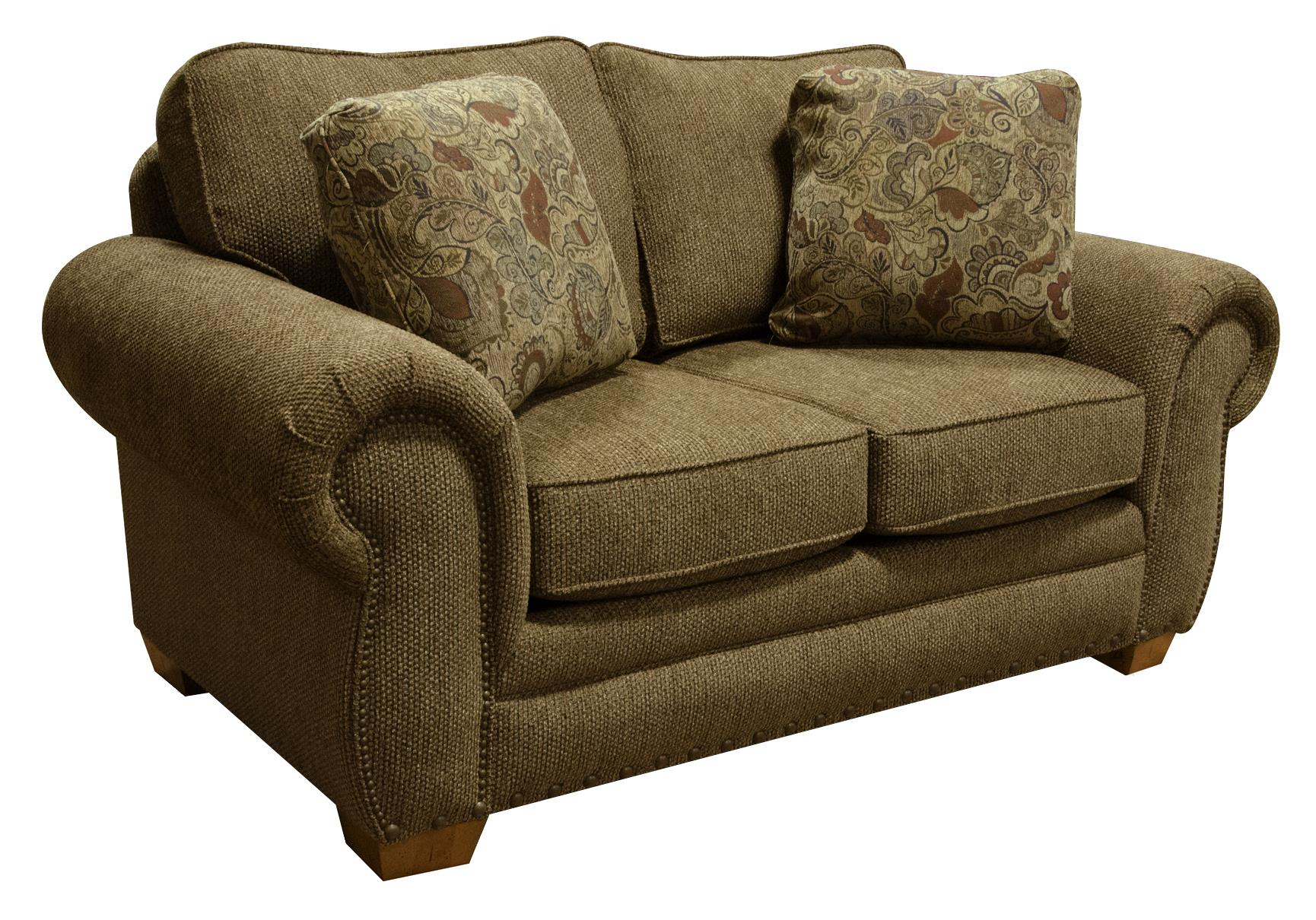England Walters Loveseat With Nailhead Trim Furniture