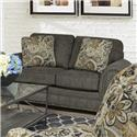 England Walters Loveseat with Nailhead Trim - Item Number: 6636N-6801