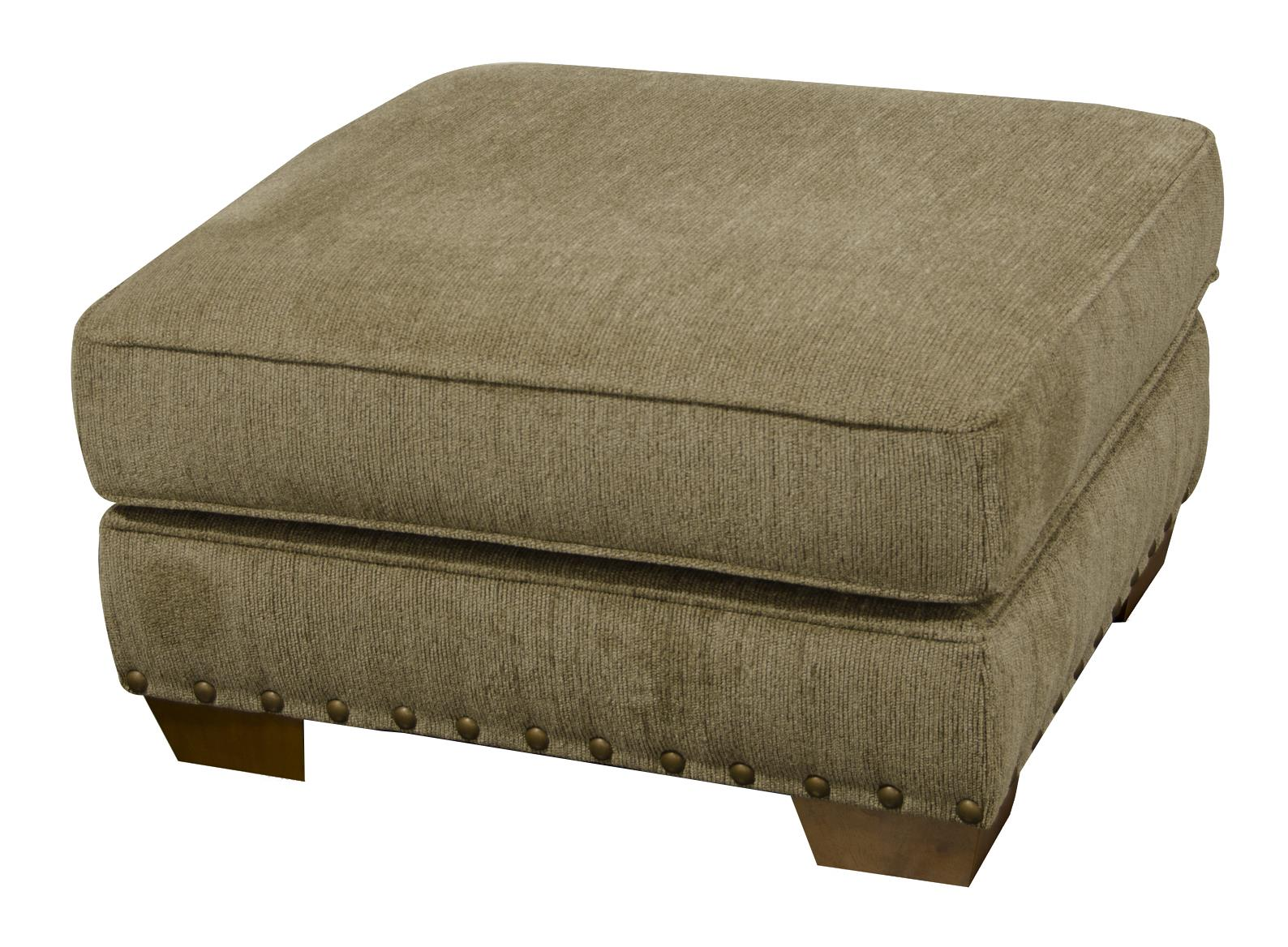 England Walters Ottoman with Nailhead Trim - Item Number: 6637N-6844