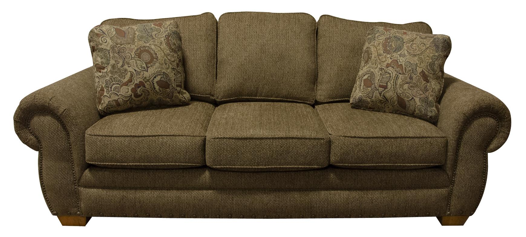 England Walters Sofa Sleeper with Nailhead Trim - Item Number: 6639N-6432