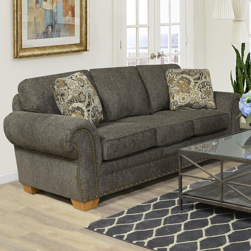 England Walters Sofa Sleeper With Nailhead Trim Prime Brothers Furniture Sofa Sleeper