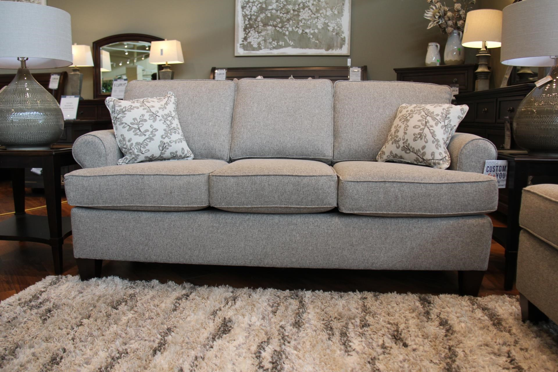 Brentwood Pepper Sofa