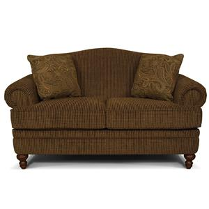 England Whitney Stationary Loveseat