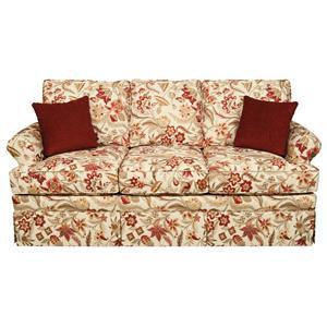 England William Air Mattress Full Size Sleeper Sofa for Casual Living Rooms AHFA Sofa