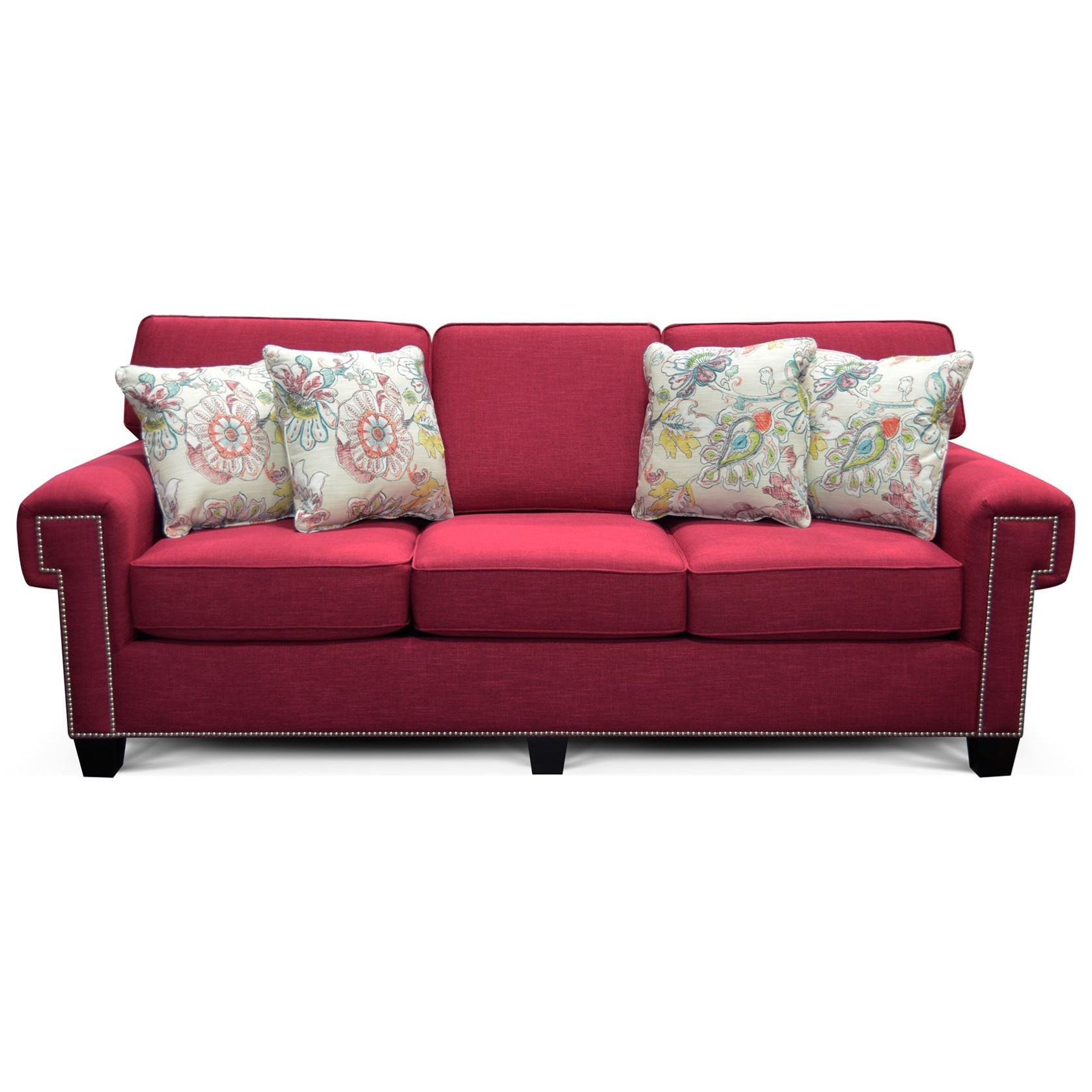 England Yonts Y205n Sofa With Nailhead Trim Furniture And Appliancemart Sofa