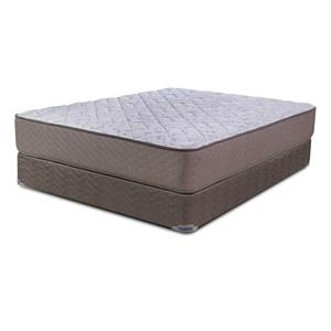 Englander Heavenly II Gel Firm Queen Mattress & Foundation