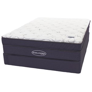 Queen PT Coil On Coil Mattress Set