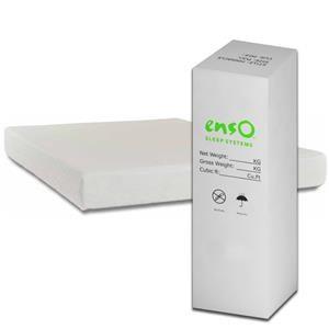 "Enso Sleep Systems Allure Bed-in-a-Box Queen 8"" Gel Memory Foam Mattress"
