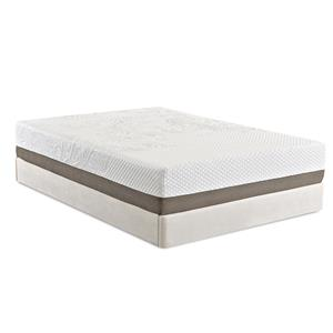 "Enso Sleep Systems Strata - Enso Queen 12"" Gel Memory Foam Mattress"
