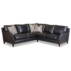 Envision by Bradington Young Laconica Sectional Sofa