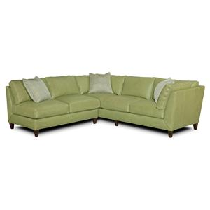Envision by Bradington Young Wiki Sectional Sofa