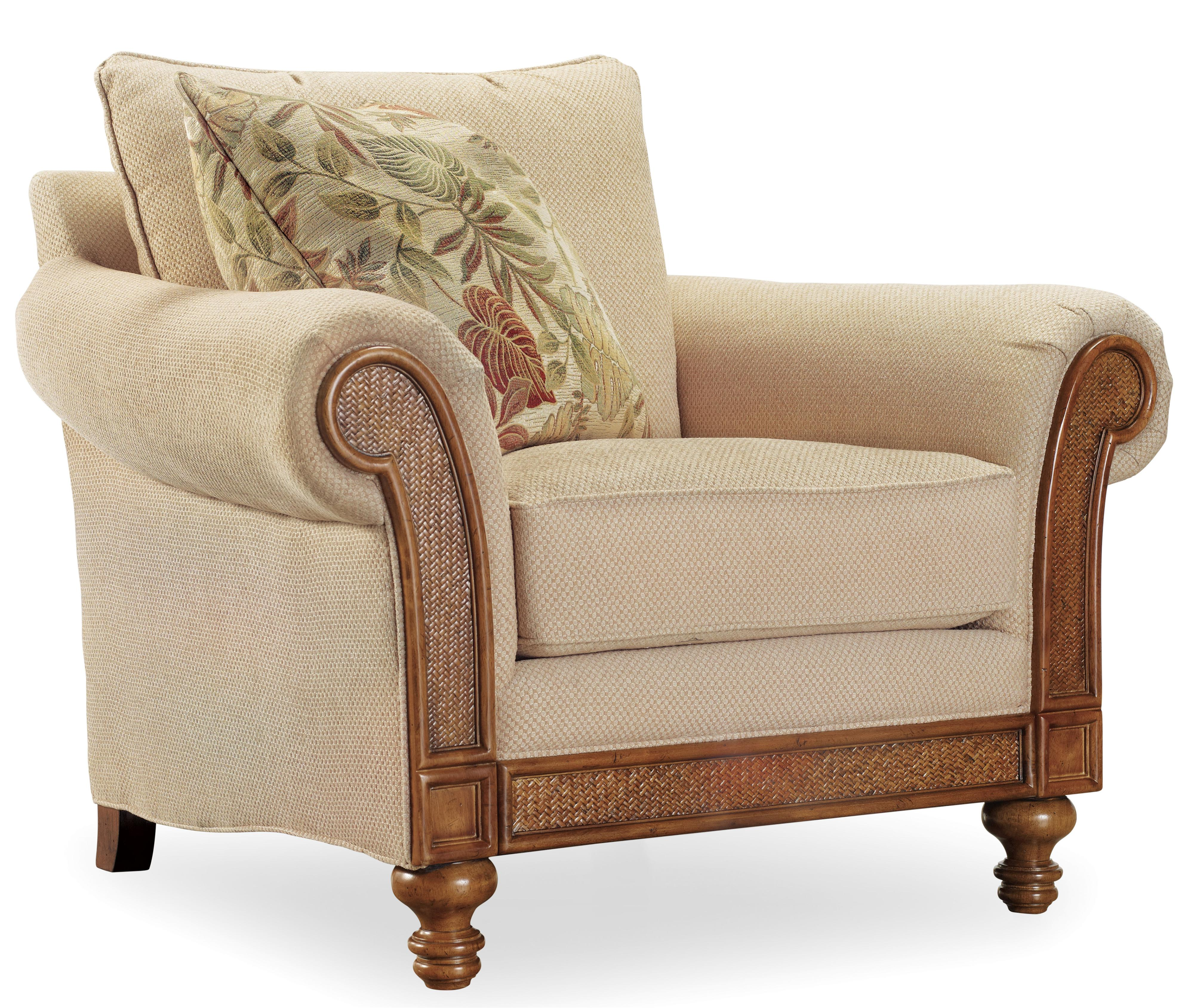 Hooker Furniture Windward 1125 Upholstered Rolled Arm Chair