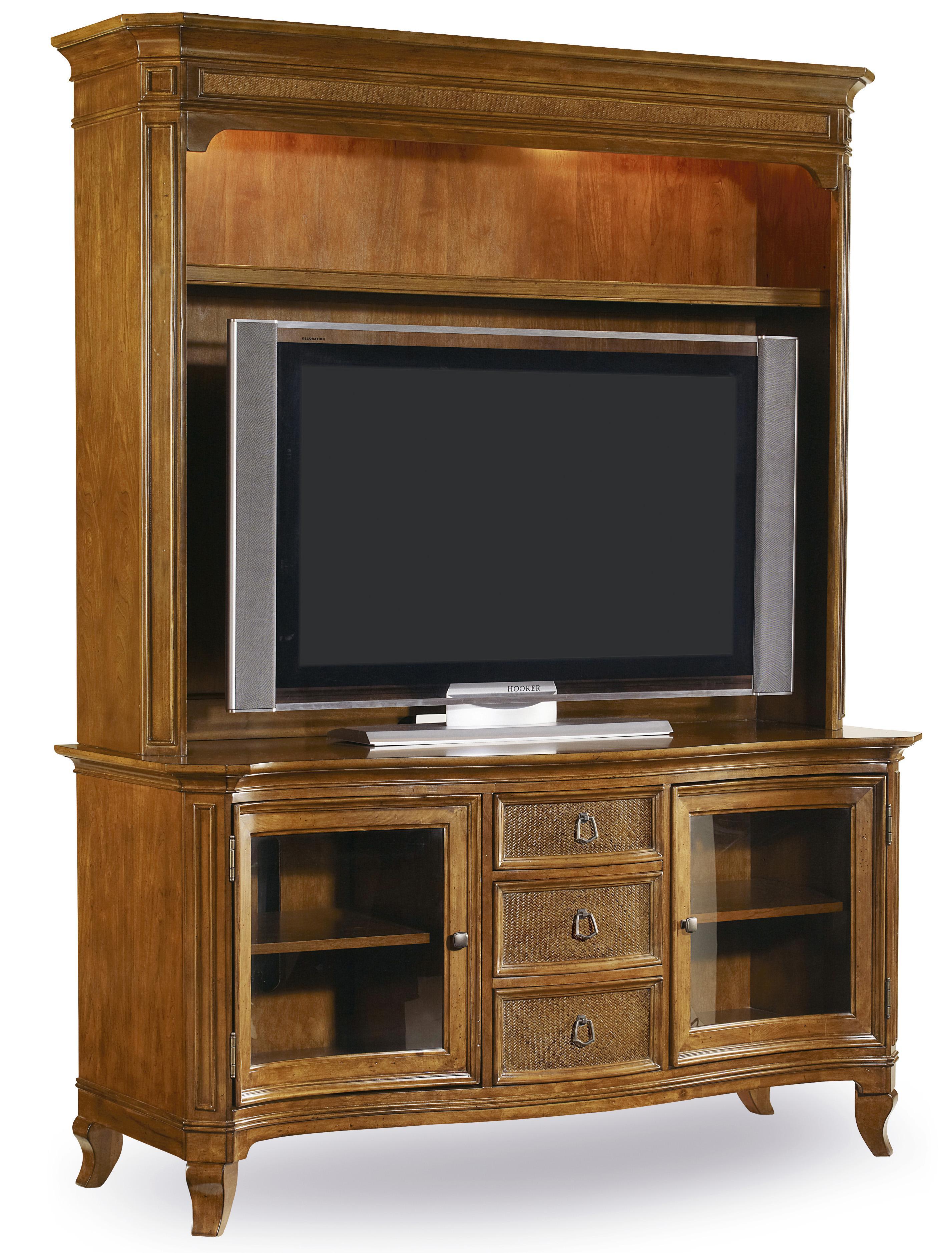 Hooker Furniture Windward Wall Unit - Item Number: 1125-56480+56580